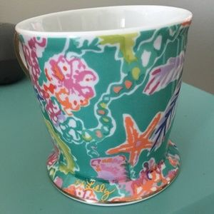 Lilly Pulitzer Coffee Mug Cup Shell Search Ocean
